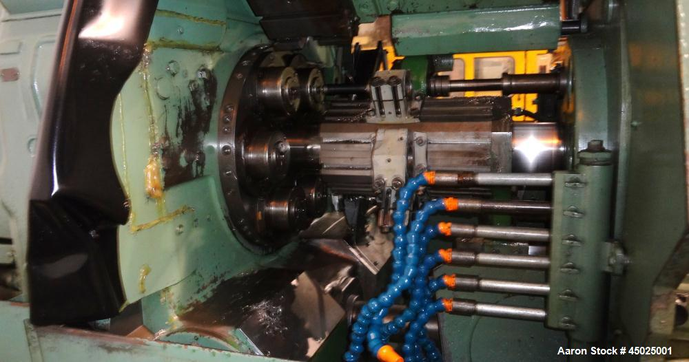 Used- Acme Gridley RB-6 Multispindle Screw Machine.
