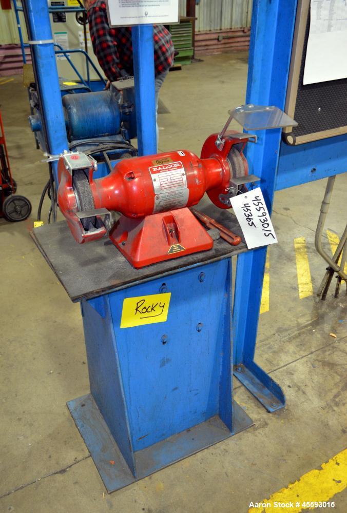 Used- Baldor bench grinder