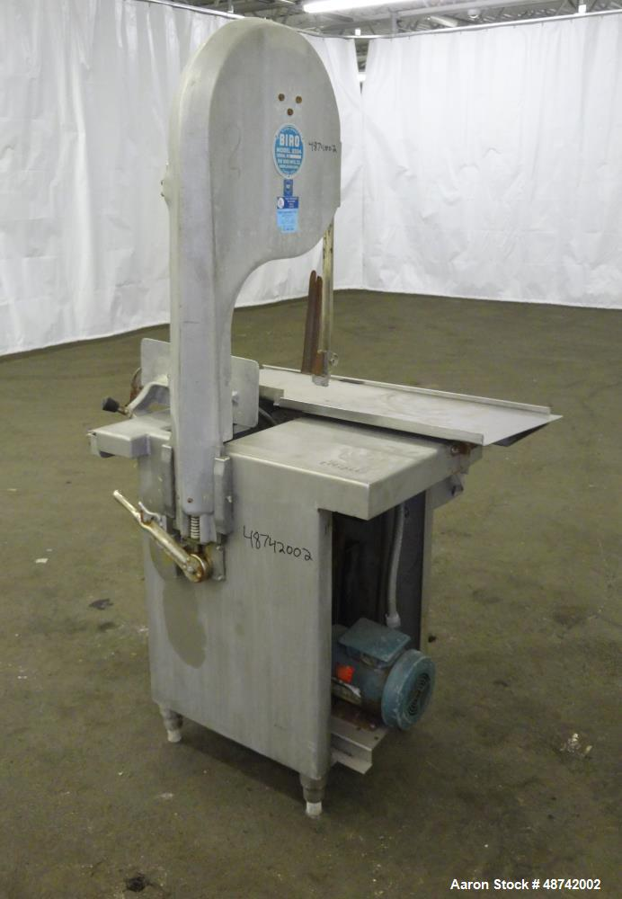 Used Biro Meat Saw Model 3334 Requires Blade