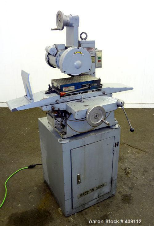"""Used- Central Machinery 6"""" x 12"""" Surface Grinder. 12"""" x 6"""" Surface. 3/4hp, 1/60/110 volt."""