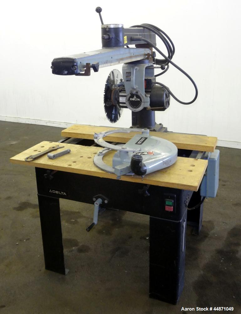 "Used-Delta 20"" Radial Arm Saw"