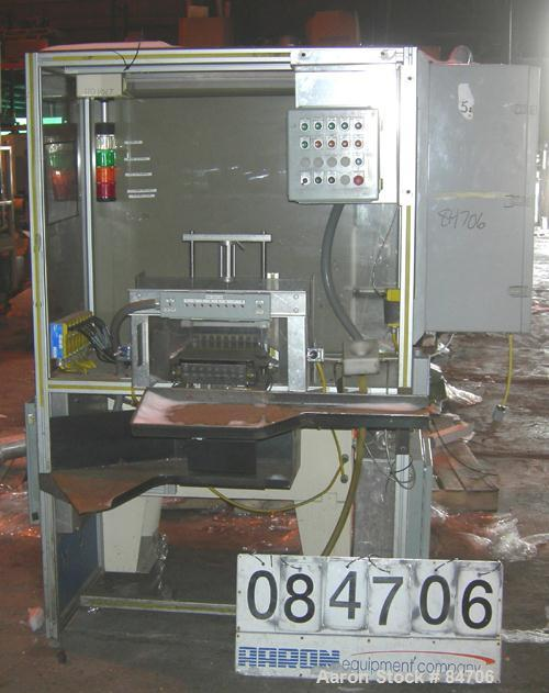 Used- ESI Off Line Manual Dielectric Spark Plug Insulator Test Machine