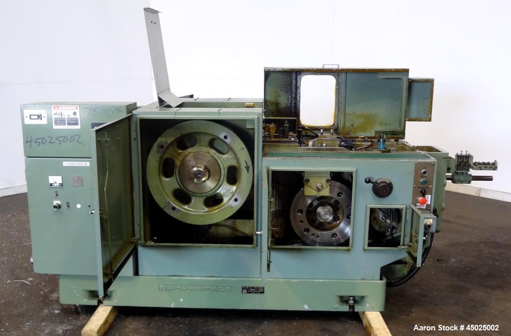 Used- Nakashimada Engineering Works Cold Header, Model H-20A