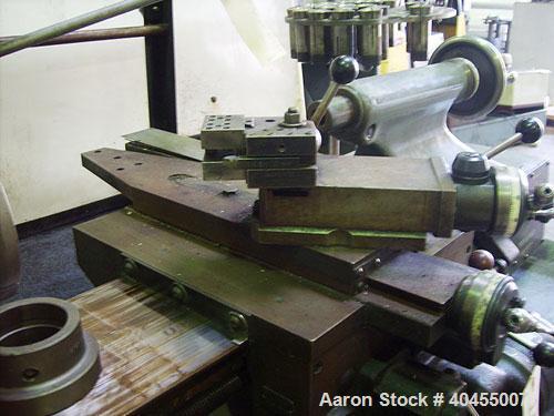 Used- Hardinge 9'' x 18'' Precision Tool Room Lathe. Spindle construction Hardinge ball bearing. Spindle nose Hardinge taper...
