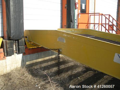 Used-Magliner Mobile Truck Dock, 16,000 lbs capacity.