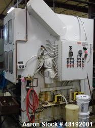 Used- Roto Finish Inc. Roto Max Deburring/Finisher. 2 cubic foot bowl, 460 volts, includes part and media separator. Mfg. 19...