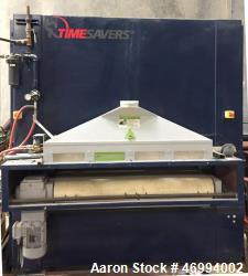 "Used- Timesavers Sandingmaster/Grindingmaster, Model 42-SERIE-1350-WRB. 460v 3-Phase 60 Hertz, 52"" wide face sander for wood..."