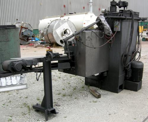 Used- Abplanalp Monorail Through Feed Grinding System, Consisting Of: (1) Model CES-150-4SX5150 through process surface grin...