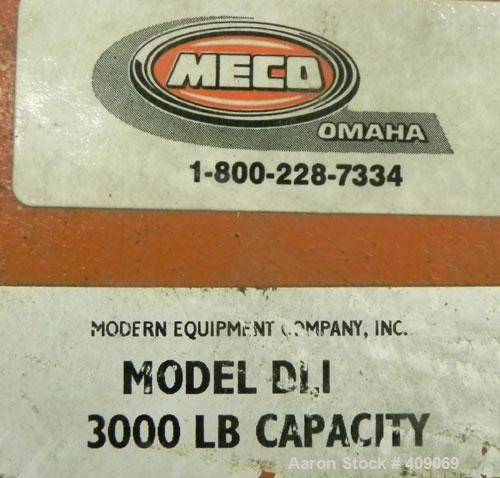 Used-Modern Equipment Company Drum Lift, Model DL1, 3000 Pound Capacity.