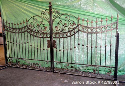 Used- Wrought Iron Gates