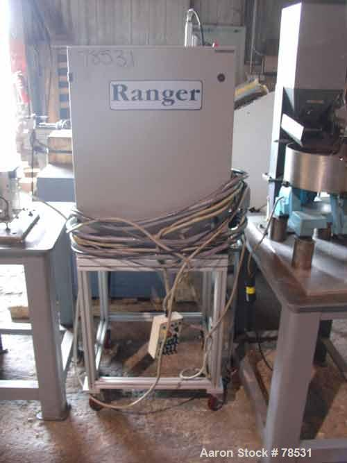 Used- Ranger Robot. Designed as a part removal and insert loading robot for an injection molding machine. Originally designe...