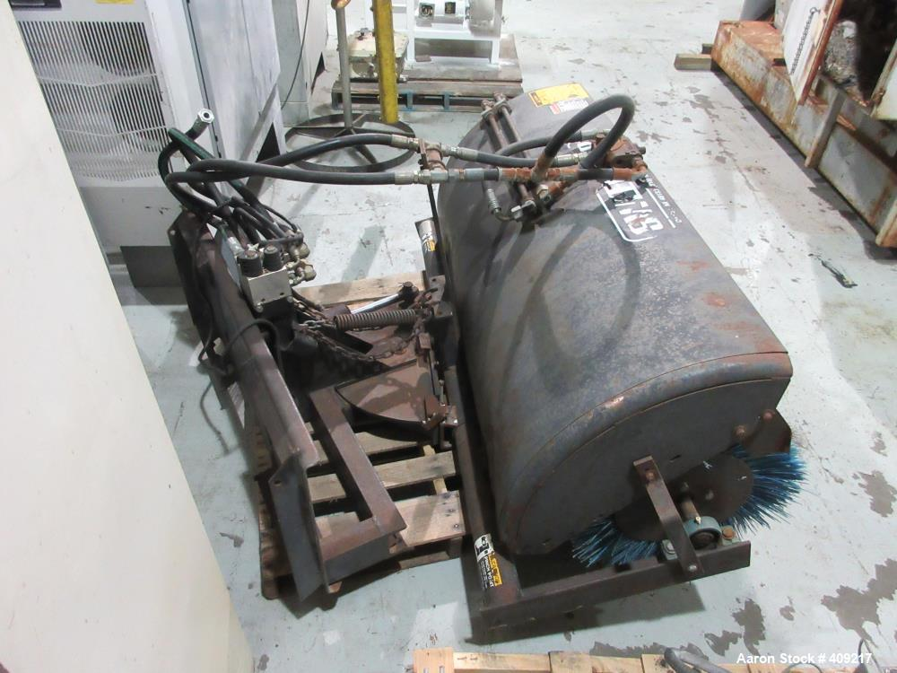 Used- Sweepster Skid Steer Broom/Sweeper, Model S32. Hydraulic Operated. Serial# 932675