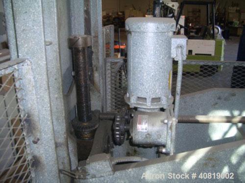"Used-Schwabe 80 ton 30"" x 60"" cutting press."