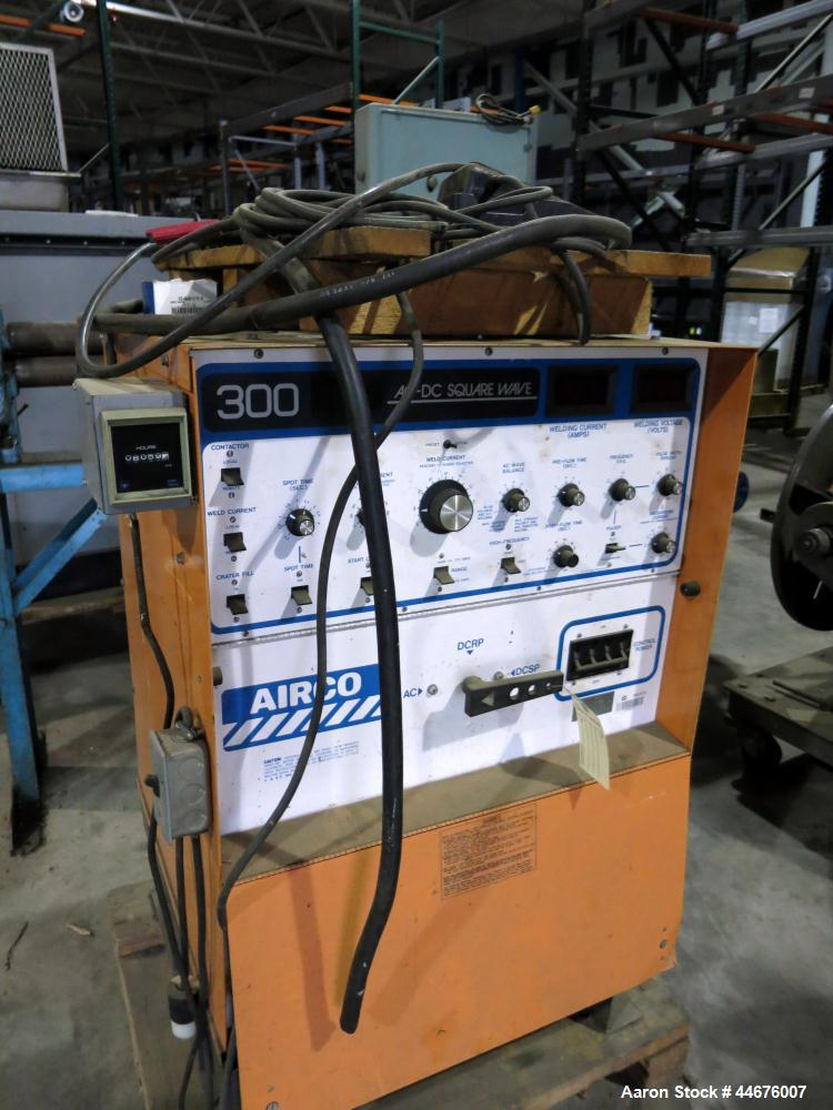 Used-Airco Welder, Series 300, Serial # MH310088.  6059 Hours.
