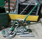 Used- Greenlee Mechanical Pipe Bender, Model 1818.  EMT capacity 3/4