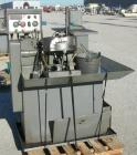 USED: Snow Mfg Co Horizontal Machine, Model HT-1-S. Single/horizontal spindle tapping machine with vibratory bowl feed hoppe...