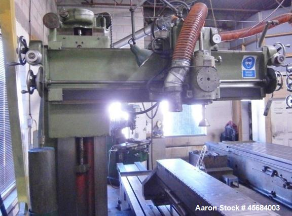 "Used- 46"" x 40"" x 120"" Churchill Openside Way Grinder"
