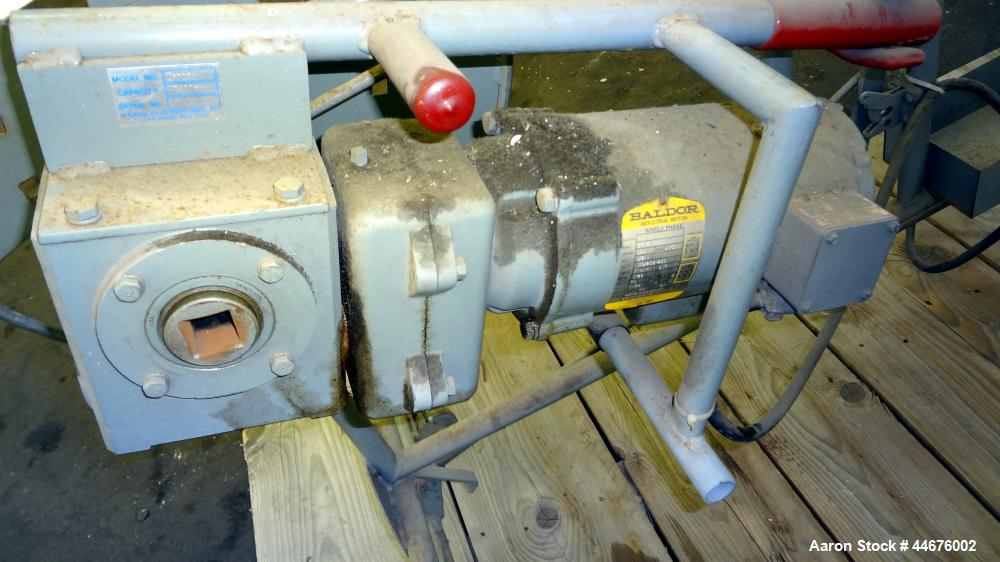 """Used- Wemco 3100 HD Series Coiling Machine. Approximate 18"""" standard coiler, 700 meter, 31"""" turntable with small wire cone a..."""