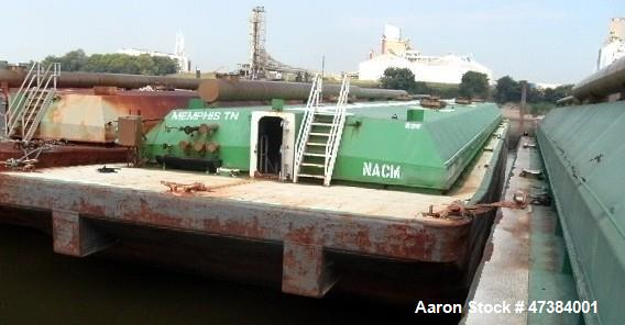 Used- Independent Tank Barge, Approximate 200 x 35 x 12.