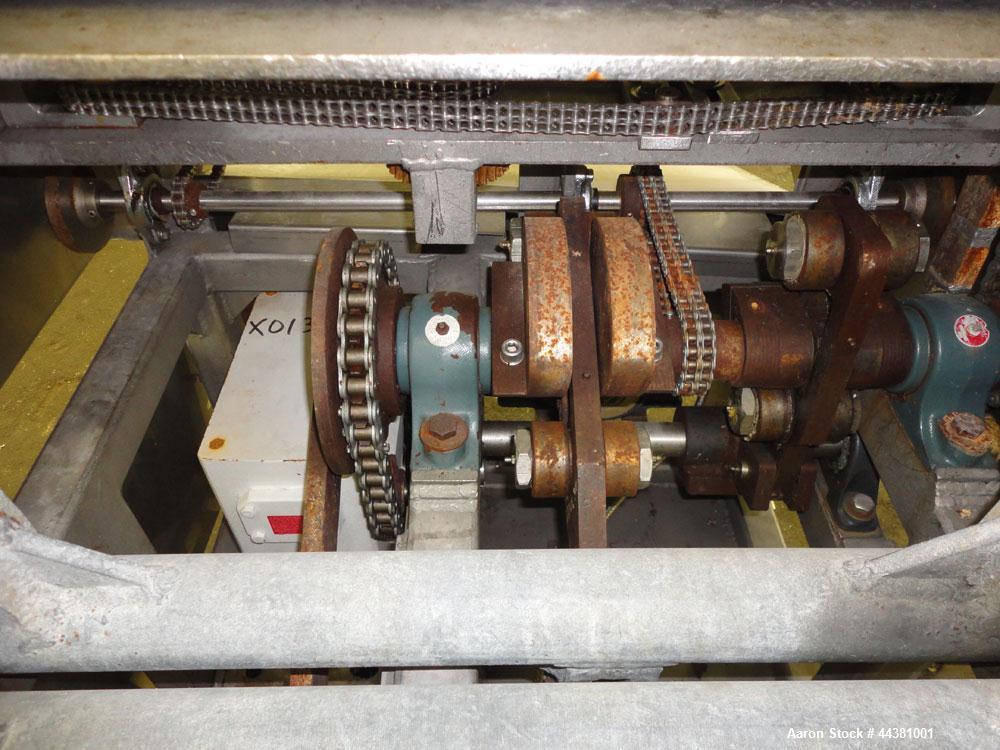 Used- Stainless Steel Bridge Machine Patty Former, Model 240