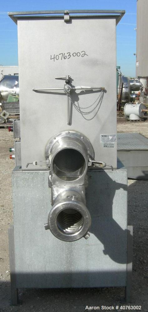 Used- Butcher Boy Agitated Meat Grinder, Model 500/56, 304 stainless steel. Approximate 500 pound mixing capacity. Top feed ...