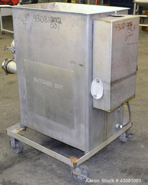 Used- Stainless Steel Butcher Boy Meat Grinder