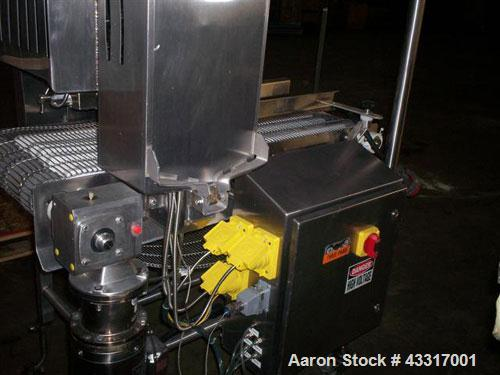 Used-CHL Systems Product Brander, Model BHSCTF-16x48.  AMI food safe design, 480V, 3 ph, 304 stainless steel.  Integrated PL...