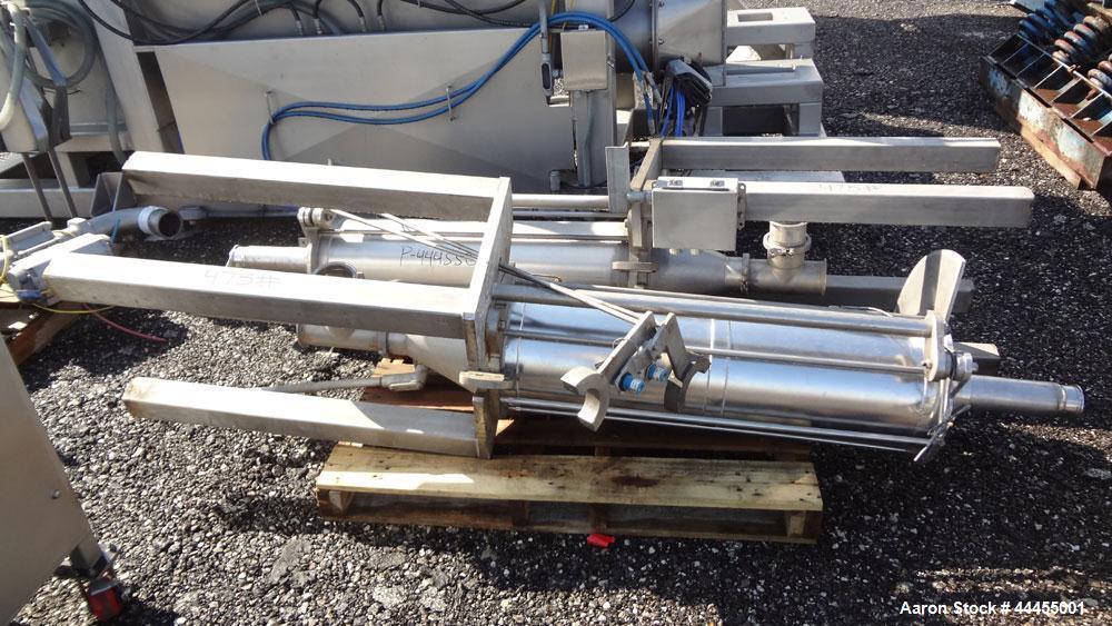 Used- Stainless Steel FPEC Food Processing Equipment Company Vacuum Stuffer, Mod