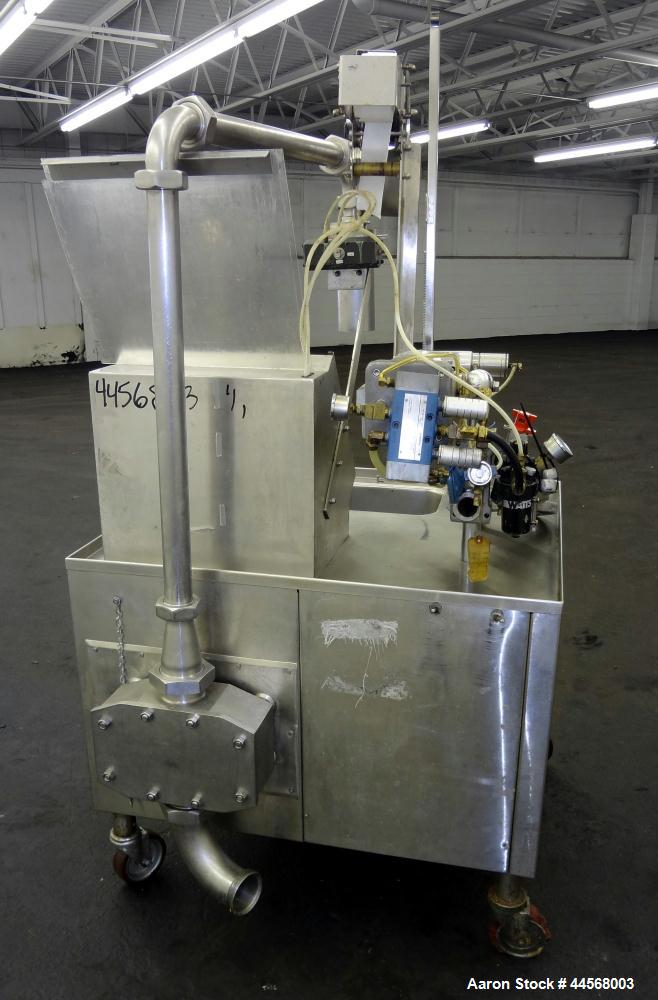 Used- Groen CapKold Mobile Pump/Fill Stations. With integrated rotary positive displacement pump, for the transfer of hot an...