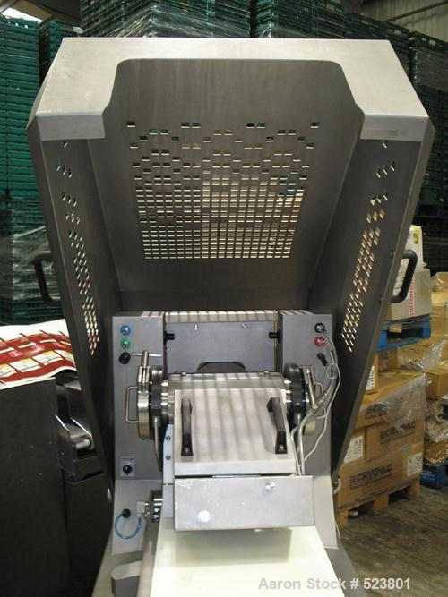 USED: Handtmann food extruder, used for Kofta, stainless steel, CE2006. Reported to be hardly used.