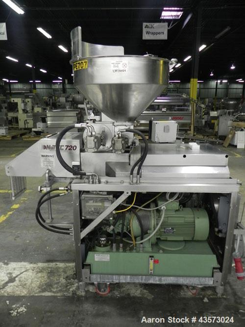Used- Nutec Systems Manufacturing Hydraulic 720 Forming Machine
