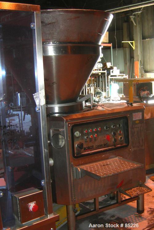 Used- Stainless Steel Reiser Vemag Meat Stuffer, Model Robot 3000DC