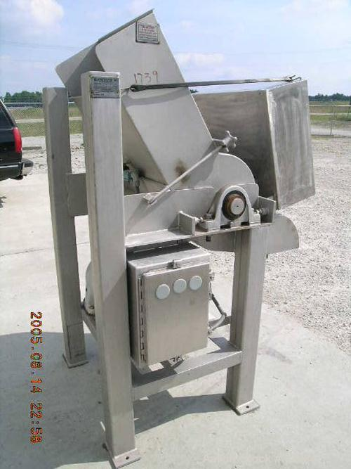 "USED: Rotoclaw II frozen meat flaker, model C-299. Handles frozenblocks of meat up to 9.5"" thick and 21"" wide. Production ra..."