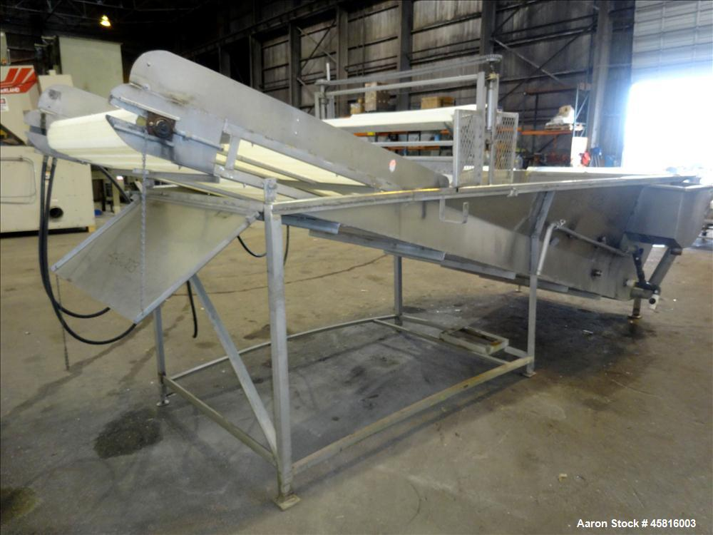 Used- Shrimp Defroster, 304 Stainless Steel.