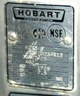 USED: Hobart meat grinder, model 4246S. 304 stainless steel. 140 pound hopper 18
