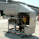 USED: Weiler Agitated Self-Feeding Grinder, model A1167. 304 stainless steel. Approximately 40 cubic foot tub with a 5-1/2