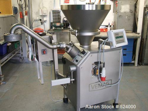 USED: Vemag meatballer robot 500, type 128/90. Includes PC878 controlpanel, Vemag single head meat/cheese baller type 821. R...