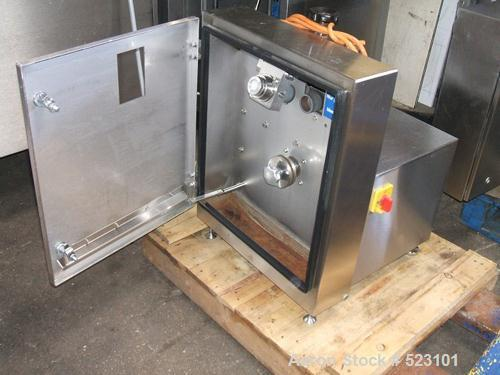 "USED: Weber CCS 5000 computer slicer. Product area 9.85"" x 5.3"" x39.37"" (250 x 135 x 1000mm). Max 500 slices per minute. Inc..."