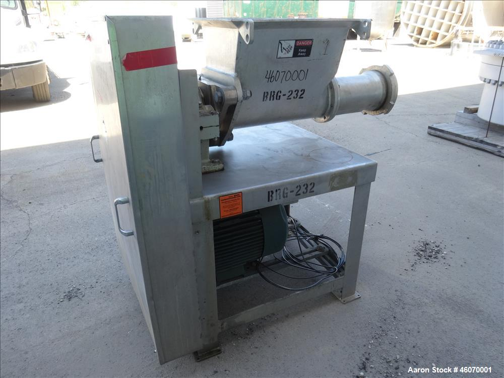 Used- Weiler Meat Grinder, Model 878, Tin Plated.