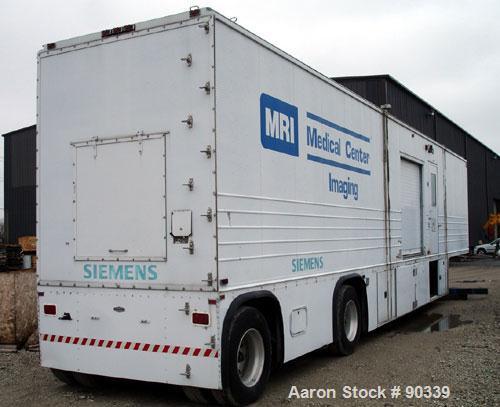 Used- Mobile MRI Trailer Consisting Of: (1) Siemens Magnetom SP MRI unit, model SPA42, serial# 01177, includes control panel...