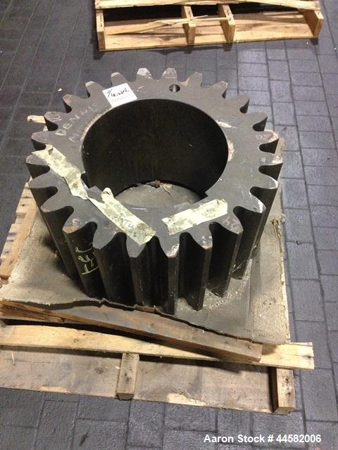 """Unused- Set of connecting gears for 100"""" Farrel two roll mill"""