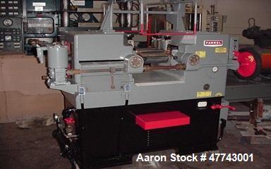 """Used- Farrell 6"""" x 13"""" 2 Lab Roll Mill"""