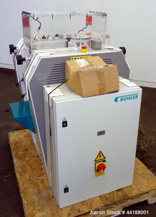 Used- Buhler 6'' X 8'' 3 Roll Mill, Model SDY 200.