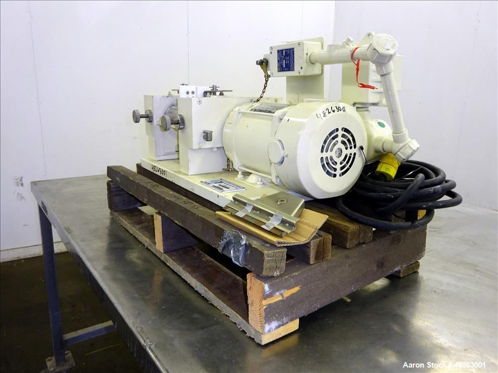 Used- Ross Bench-Top Horizontal Three Roll Mill, Model 2.5 X 5 T.R.M.