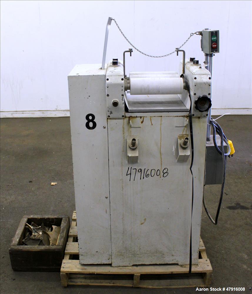 Used- Erweka Three Roll Mill, Type SMW/P.