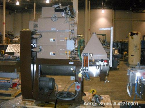 Used- Modern Process Equipment (Gump) Model IMD 888 FT Coffee Grinder capable of up to 2000 lbs per hour on fine and 1300 lb...