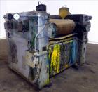 Used- J.H. Day Horizontal Three Roll Dispersion Mill, Model 14