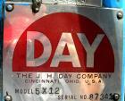 Used: J H Day Horizontal Three Roll Mill, model 5 x 12