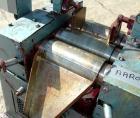 USED: Keith Machinery horizontal three roll mill, model 4 x 8. (3) 4