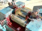 USED: Keith Machinery horizontal three roll mill, model 4 x 8. (3) 4